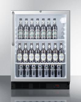 SCR600BLPUBCSS Wine Cellar Full