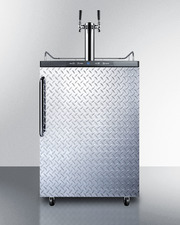 SBC635MDPLTWIN Kegerator Front