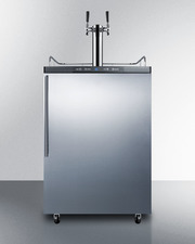 SBC635MSSHVTWIN Kegerator Front