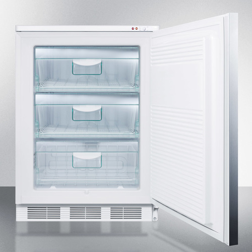 VT65ML7SSHH Freezer Open