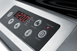 SINCCOM1 Induction Cooktop Controls