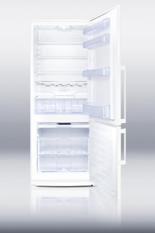 FFBF280W Refrigerator Freezer Open