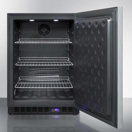 SPFF51OSCSSHH Freezer Open