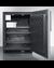 SPFF51OSCSSHVIM Freezer Open