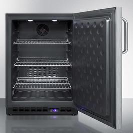 SPFF51OSCSSTB Freezer Open