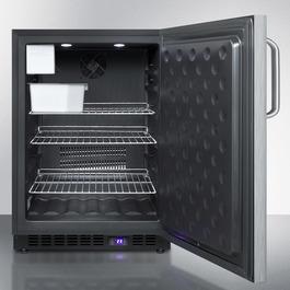 SPFF51OSCSSTBIM Freezer Open