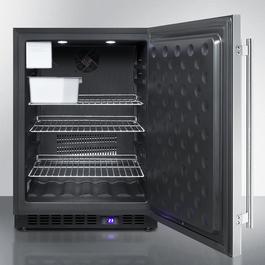 SPFF51OSCSSIM Freezer Open