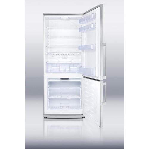 FFBF285SS Refrigerator Freezer Open