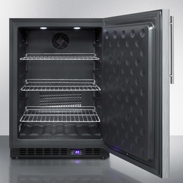 SPFF51OSSSHV Freezer Open