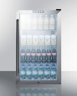 SCR486LCSS Refrigerator Full