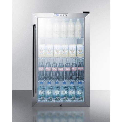 SCR486LBICSS Refrigerator Full
