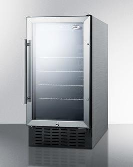 SCR1841BCSS Refrigerator Angle