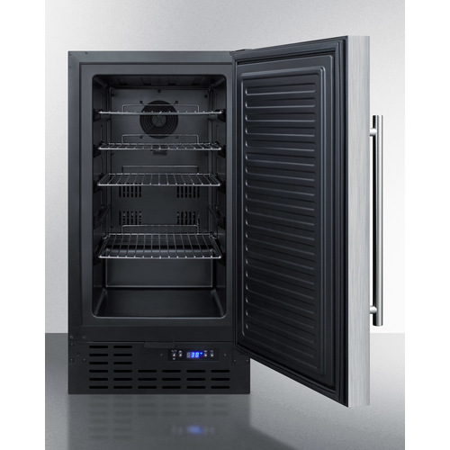FF1843BCSSADA Refrigerator Open