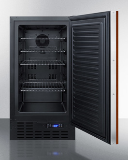 FF1843BIF Refrigerator Open