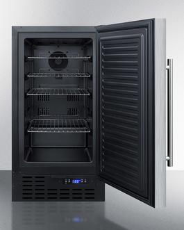 FF1843BSS Refrigerator Open