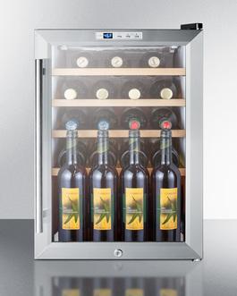 SCR312LBICSSWC2 Wine Cellar Full