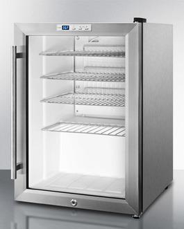 SCR312LBICSS Refrigerator Angle