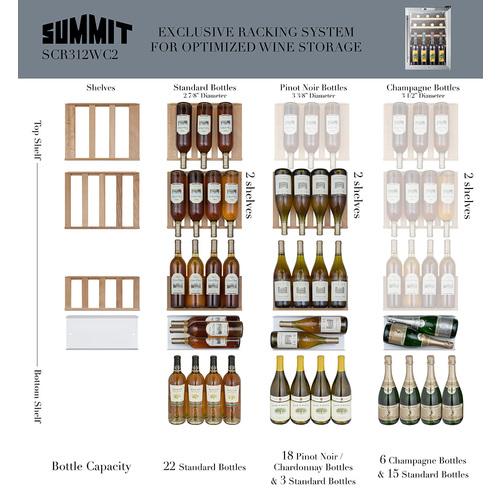 SCR312LWC2 Wine Cellar