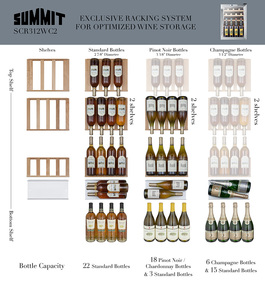 SCR312LBIWC2 Wine Cellar
