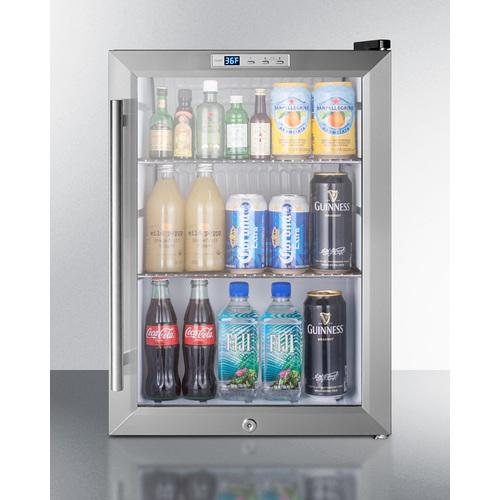 SCR312LBICSS Refrigerator Full