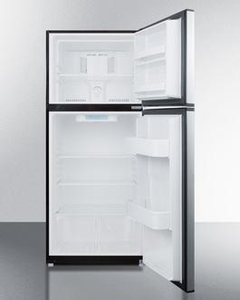 FF1073SS Refrigerator Freezer Open