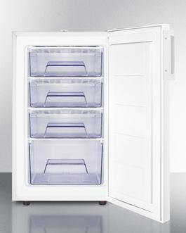 FS407L7ADA Freezer Open