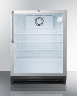SCR600LOS Refrigerator Front