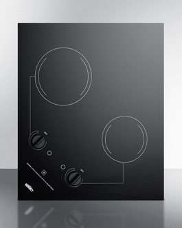 CR2B121 Electric Cooktop Front