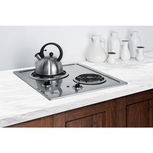 CR2B122 Electric Cooktop Set