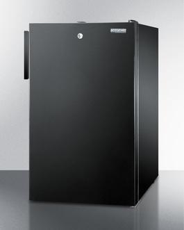 FS408BL7ADA Freezer Angle