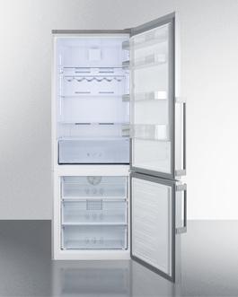 FFBF286SS Refrigerator Freezer Open