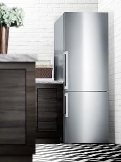 FFBF286SS Refrigerator Freezer Set