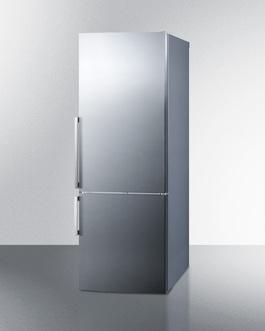 FFBF286SS Refrigerator Freezer Angle