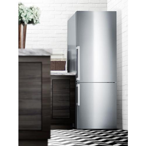 FFBF287SSIM Refrigerator Freezer Set