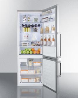 FFBF287SSIM Refrigerator Freezer Full