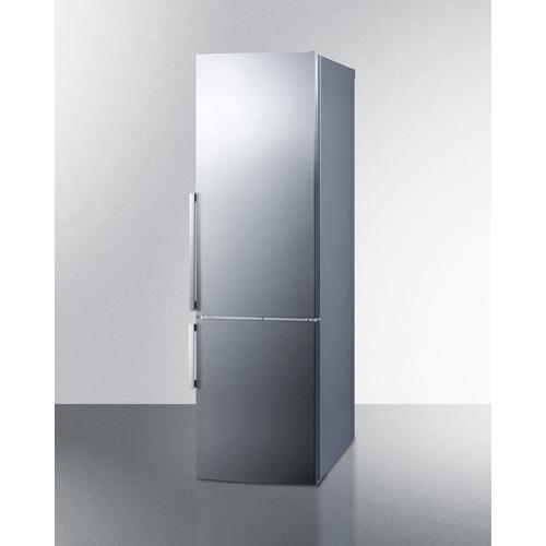 FFBF246SS Refrigerator Freezer Angle