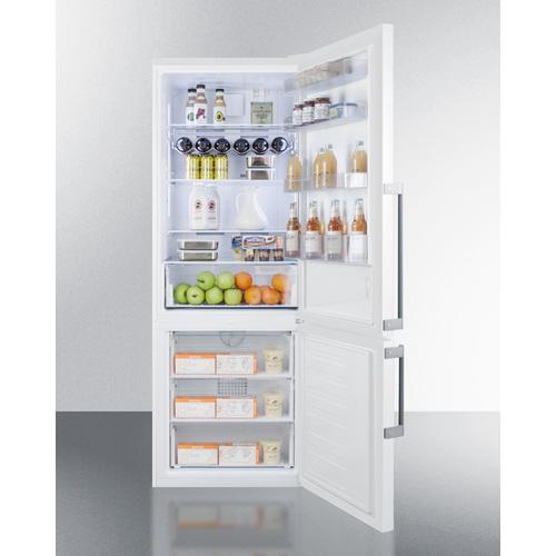 FFBF281W Refrigerator Freezer Full
