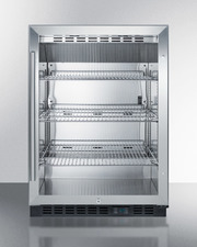 SCR610BL Refrigerator Front