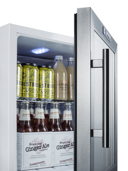 SCR215LCSS Refrigerator Detail