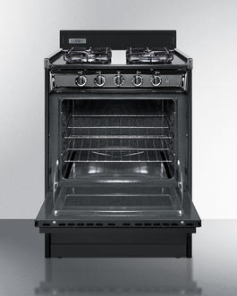 TTM6107CS Gas Range Open