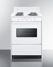 WEM610W Electric Range Front