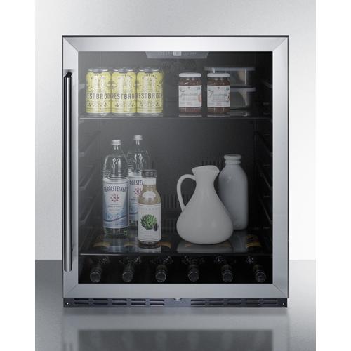 AL57GCSS Refrigerator Full