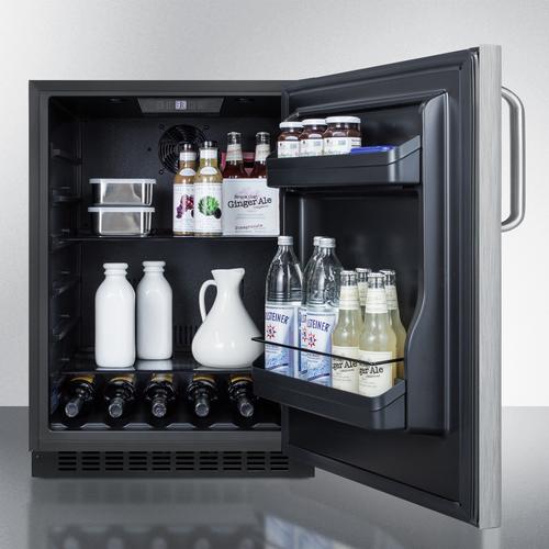 AL54CSSTB Refrigerator Full