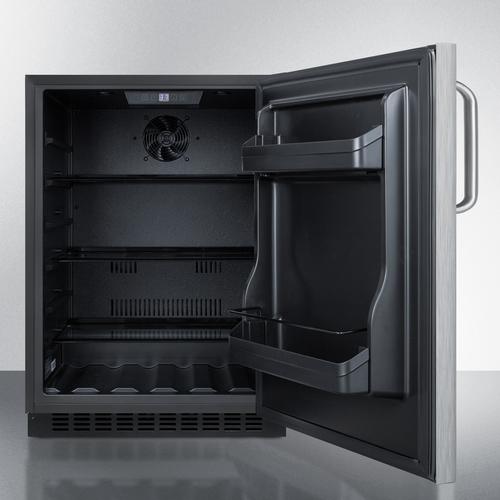 AL54CSSTB Refrigerator Open