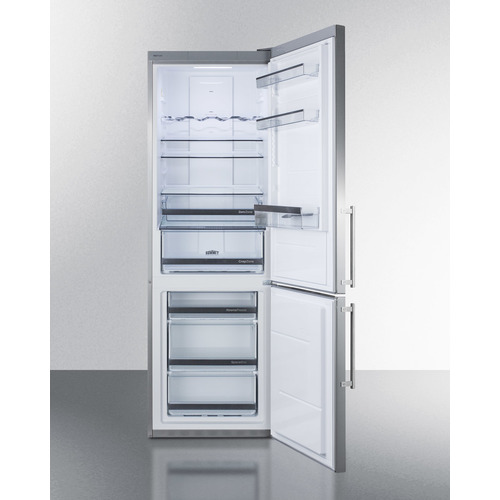 FFBF249SS Refrigerator Freezer Open