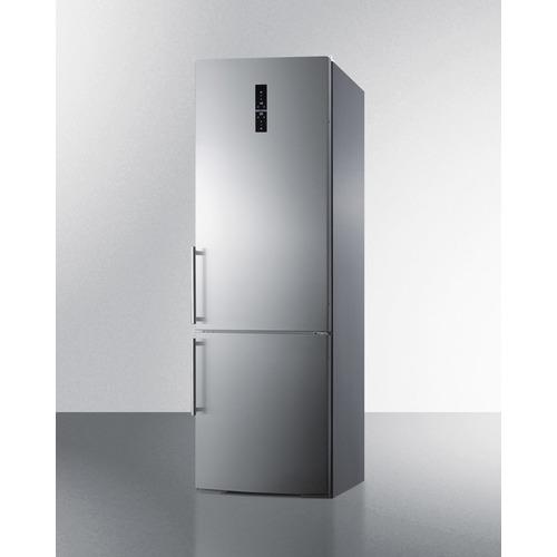 FFBF249SS Refrigerator Freezer Angle