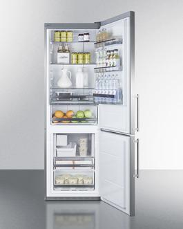 FFBF249SSIM Refrigerator Freezer Full