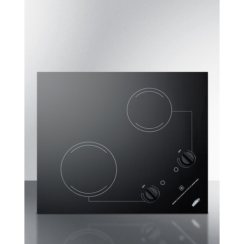CR2B223G Electric Cooktop Front