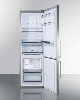 FFBF249SSBIIM Refrigerator Freezer Open