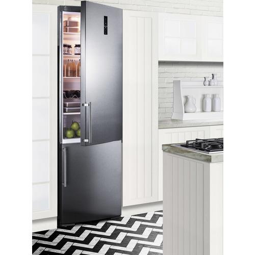 FFBF249SSBI Refrigerator Freezer Set